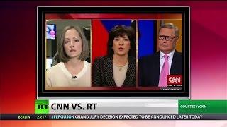 CNN heavily redacts RT host