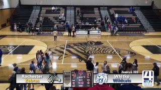 Rochester Girls Basketball vs Whitko