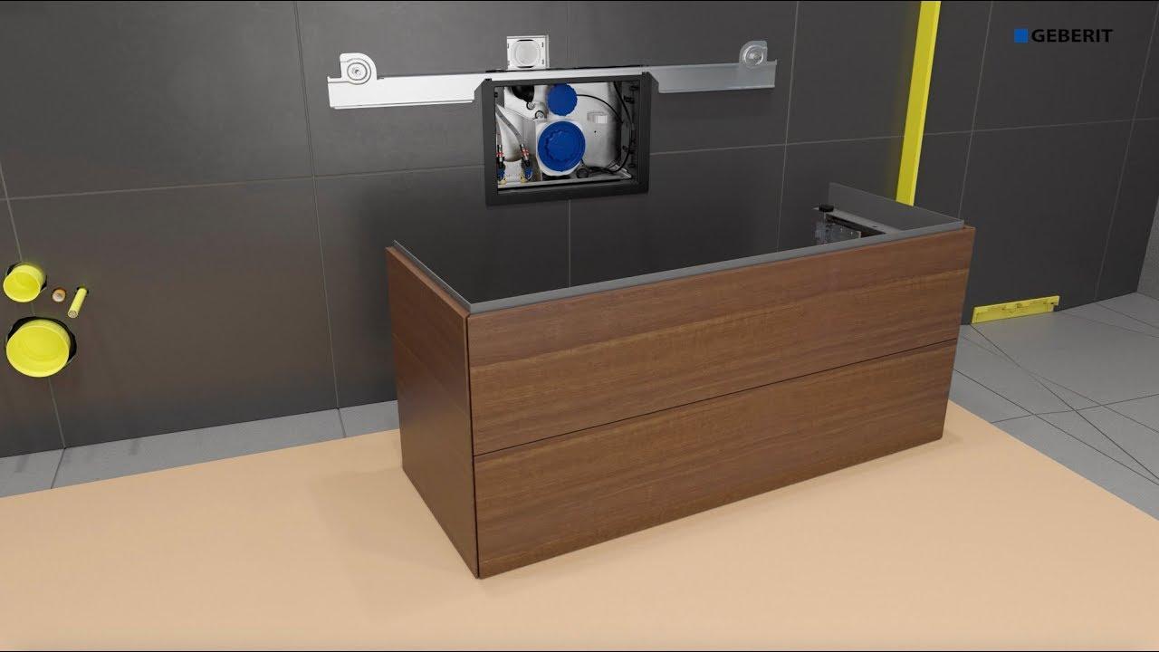 Geberit ONE Washplace - Installation