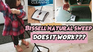 Bissell Natural Sweep: Assembly and Review 2021