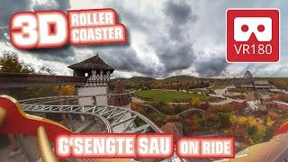 Roller Coaster VR180 3D Experience - G