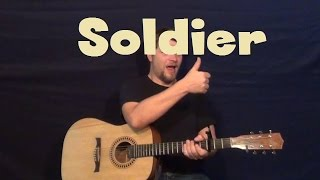 Soldier (Damien) Guitar Lesson - How to Play Tutorial
