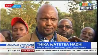Mbunge Moses Kuria aitaka Thika United igeuzwe jina na kuitwa Mount Kenya Union