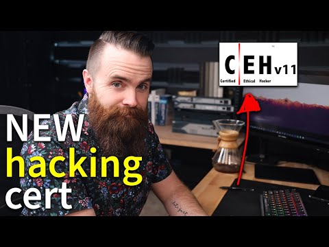 the NEW certified ethical hacker (CEHv11) cert // feat. ITProTV's ...