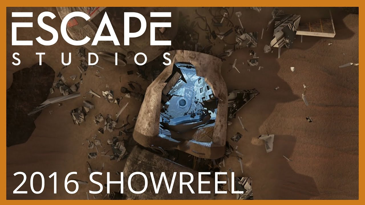 Escape Studios Student Showreel Summer 2016