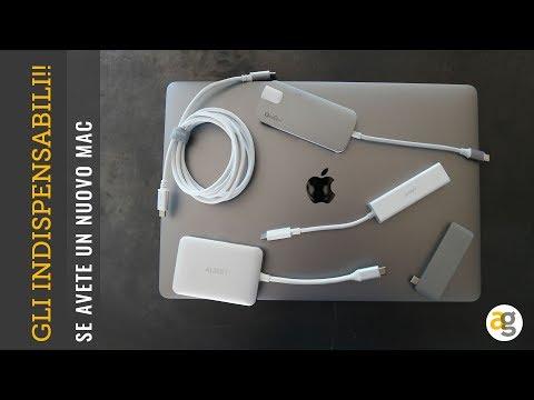 MacBook Pro gli accessori INDISPENSABILI!