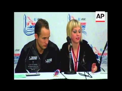Caydee Denney and Jeremy Barrett took gold at the U.S. Figure Skating Championships and one of two s