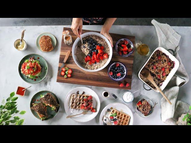 One-bowl vegan breakfasts » easy + delicious