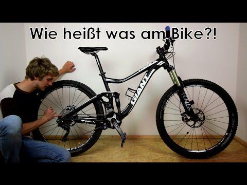 Wo ist Was am Mountainbike?! Begriffe erklärt!