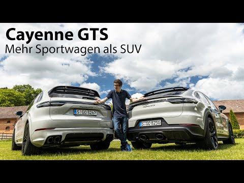Die SUV-Optik täuscht: 2021 Porsche Cayenne GTS (E3) ist mehr Sportwagen als SUV - Autophorie
