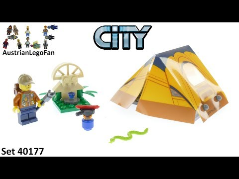 Vidéo LEGO City 40177 : Jungle Explorer Kit (Polybag)