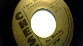 I love your baby - the miracles - chess 1959