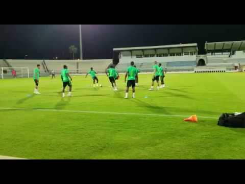 WATCH: SE Training Ahead Of Libya AFCON2019 Qualifier Clash In Tunisia