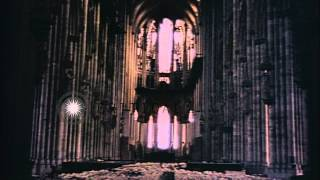 Cologne Cathedral in Cologne in Germany during World War 2 HD Stock Footage