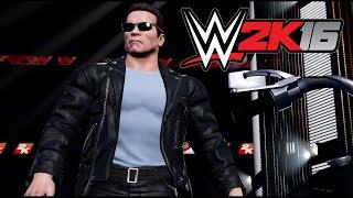"WWE 2K16 Arnold ""The Terminator"" Schwarzenegger Standalone DLC Trailer"