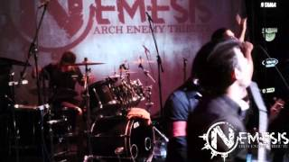 Nemesis - Arch enemy tribute - In This Shallow Grave - Live Manifesto