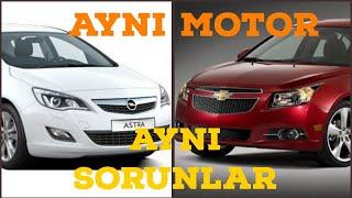 Opel Chevrolet Hangi motorda hangi sorunlar var ? 1.4 t benzinli/ 1.6 benzinli/ 1.3-1.6 dizel /