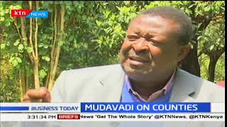 Business Today 13th November 2017- NASA Principal Musalia Mudavadi wants government to release funds
