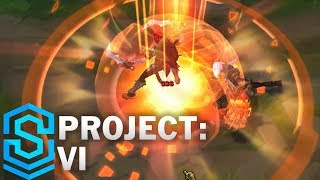Project: Vi Skin Spotlight - Pre-release - League Of Legends