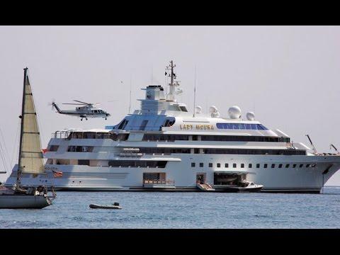 Lady Moura –  $210.000.000  - Mega Yacht - 105 m