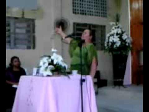 Irmã Cicera Demesio no Circulo de Oração em Córrego da Jaqueira. 23/08/2011