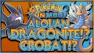 Crobat  - (Pokémon) - ALOLAN DRAGONITE AND CROBAT? MEGA DRAGONITE?! Pokémon Sun and Pokémon Moon Discussion and Theory