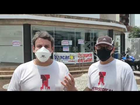 Greve de 24h no BB contra reestruturação - Fala do Andé Elias
