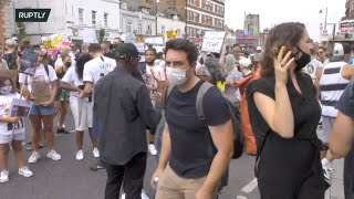 LIVE: Protest Against Police Violence In London To Commemorate The Death Of Mark Duggan