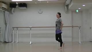 宝塚式バレエレッスン動画〜12月の課題①〜その振り正確ですか?のサムネイル