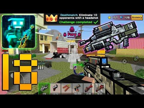 Pixel Gun 3D - Night Hunter - Gameplay Walkthrough Part 18