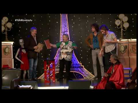 Invitados famosos en sus intervenciones en Televisión
