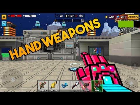 Pixel Gun 3D - Hand Weapons [Gameplay] Clan Siege Battle