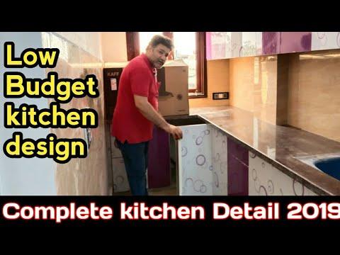 Modular kitchen design for small house |2019 kitchen design ideas ' part -1 by Furniture rayat