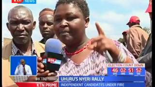 Nyeri residents resist six-piece voting as requested by President Uhuru Kenyatta come August 8th