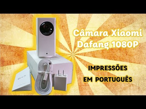 Xiaomi Dafang Impressões em Português