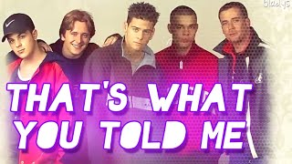 That's what you told me- Five (Subtitulos en español)
