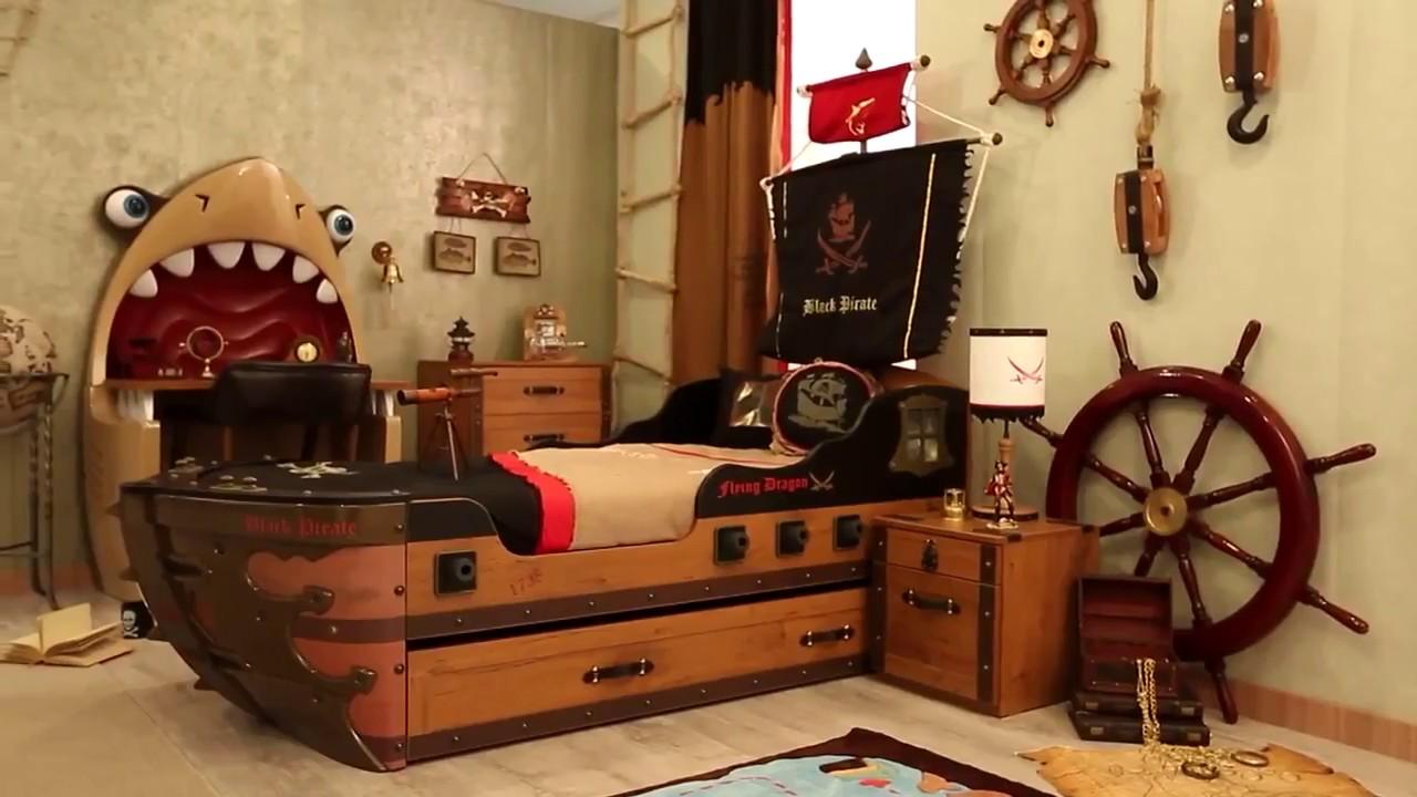 Коллекция детской мебели Black Pirate