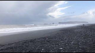 The World's Most Dangerous Beaches: Reynisfjara Black Sand Beach - Iceland