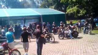preview picture of video 'Zlot motocykli zabytkowych Strumień 27.07.2014r.'