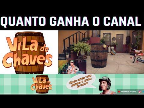 QUANTO GANHA VILA DO CHAVE NO YOUTUBE ATUALIZADO EM 2021