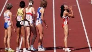 1988 Olympic Women's 4x400 Relay - World Record, American Record