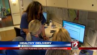 A Healthy Delivery: Delayed pushing can reduce complications