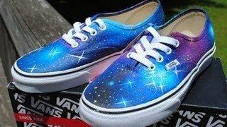 Vans Galaxy | Tuto EN FRANCAIS.