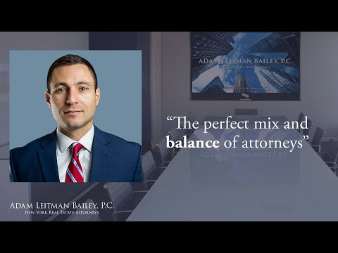 """The perfect mix and balance of attorneys"" testimonial video thumbnail"