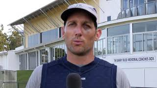 Geelong FC's Harry Taylor talks about how important it is to talk about gambling and getting support