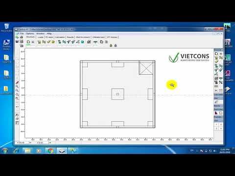 Thiết kế sàn dự ứng lực bằng phần mềm Cedrus 4