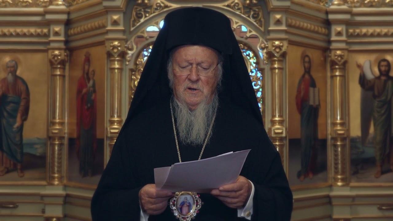 Orthodox climate witnesses: Statement by Ecumenical Patriarch Bartholomew
