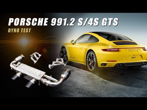 Dyno Run for Porsche 991.2 S/4S/GTS with iPE Exhaust System