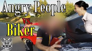 ANGRY PEOPLE VS Biker COMPILATION Vol.17 | 2016
