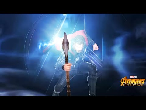 Marvel Future Fight - Avengers Infinity War Thor Gameplay